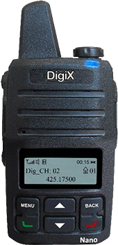 DigiX nano display
