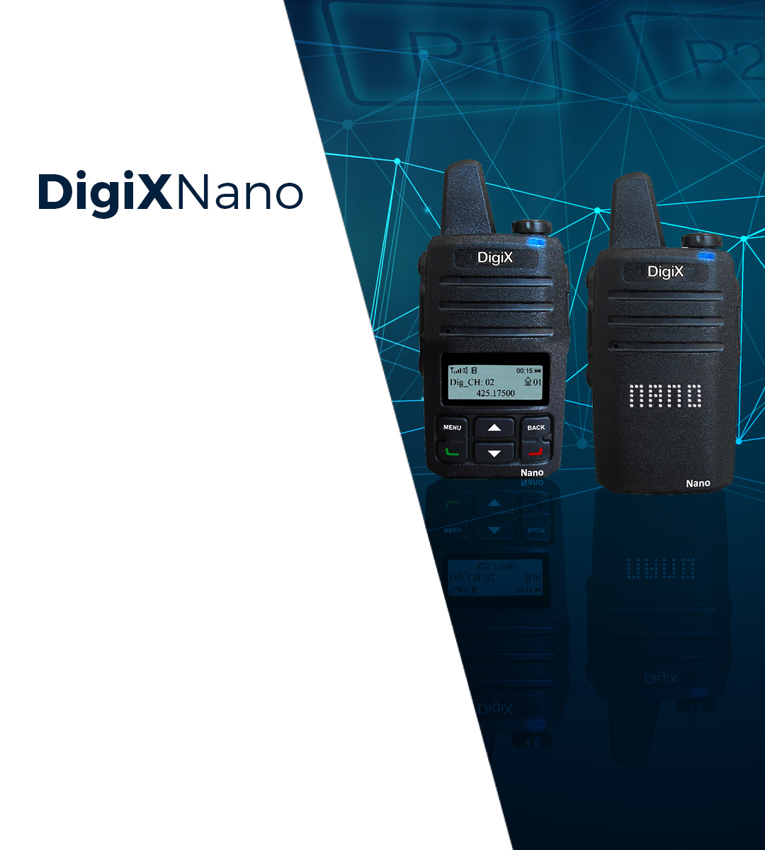 Cheap Two Way Radios from DigiX